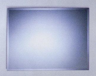 ミラー 鏡 シンプル 洗面 おしゃれ スクエア JY32-800-600 壁掛け 信憑 幅80×高60cm 美品