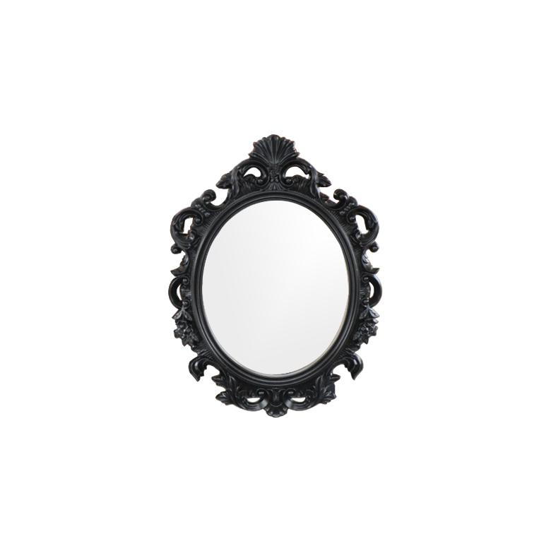 アイアン INK-1401099H 鏡 [幅55×高75cm] フレーム 壁掛け ミラー