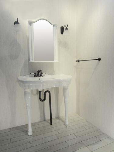 洗面台 洗面化粧台 ペデスタルシンク 混合水栓の5点セット VIN-6 INK-0505021Hset1