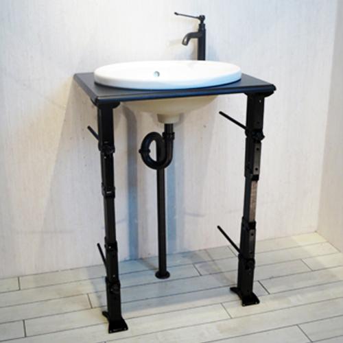 洗面台 おしゃれ 陶器洗面ボウル 単水栓の6点セット 幅60cm Fセット3 INK-1401312Hset2
