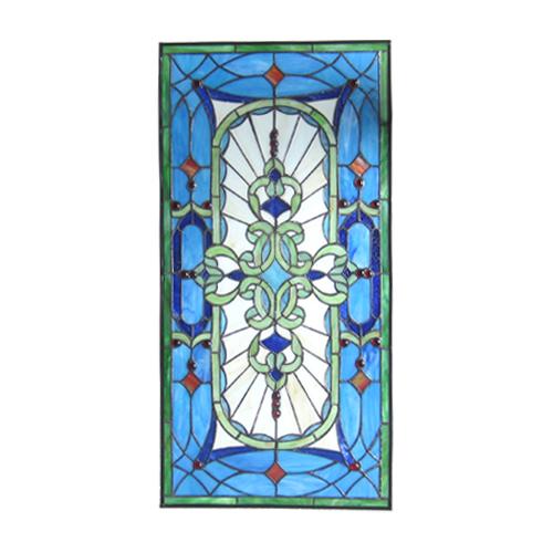 ステンドグラス アイアン 幅42.5cm INK-1103011H