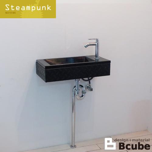洗面台セット 壁付け 人工大理石洗面ボウル 単水栓の5点セット 幅55×奥行28×高12cm SMP-14 INK-0502027Hsetb_SMP_14