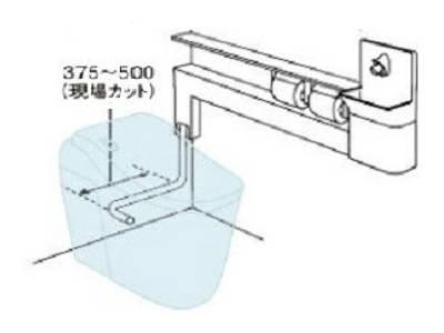 XCH1JNZR【送料無料】 パナソニック Panasonic アラウーノ専用手洗い カウンタータイプ 小物収納なし 自動水栓 右設置 排水位置10cm前出しタイプ 止水栓位置手洗い側