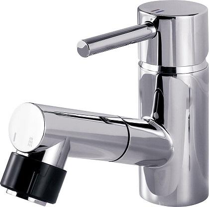 パナソニック 混合水栓 マルチシングルレバーシャワー カチット水栓 【GQC01JJE】【送料無料】