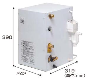 パナソニック 先止め式電気温水器 12L(洗面ドレッシング用後付けタイプ)【GQD12HDKK】