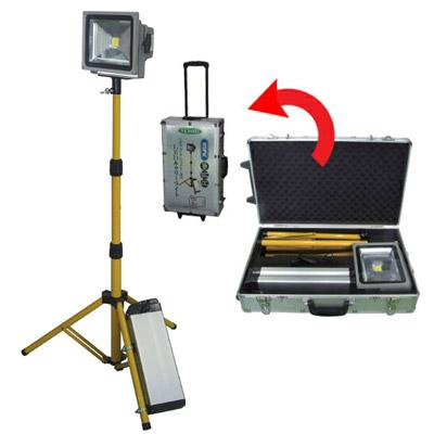 [ 送料無料 スタンドライト ] リチウム バッテリー 式 LED キャリーライト [ CL-30L-CH ] LEDライト 充電コンパクト収納 高性能 バッテリー 長時間点灯 照明器具 移動 投光器 送料込 最安値に挑戦