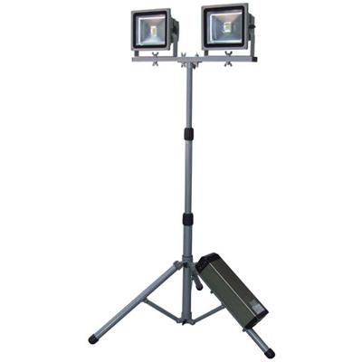 [ 送料無料 スタンドライト ] リチウム バッテリー 式 LED キャリーライト [ CL-30LW-CH ] LEDライト 充電 コンパクト収納 高性能 バッテリー 長時間点灯 照明器具 投光器 送料込 最安値に挑戦