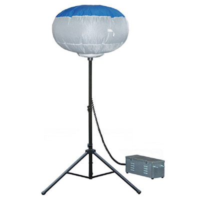 [ 送料無料 投光器 ライト ] バルーン 投光器 KBL-400SS(青 白) ※受注生産 ヤマハ スタンド 風船 スタンドライト 作業ライト 照明 軽量 夜間 省エネ LED 電球 防雨型 アース不要 送料込 最安値に挑戦