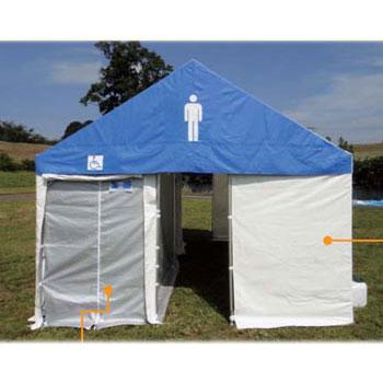 [ 送料無料 防災トイレ 非常用トイレ 仮設トイレ 簡易トイレ ]男性専用集合 トイレ 「トイレサムライ」SM-L(15人用) 大型トイレ マンホールトイレ 移動式トイレ 洋式トイレ 送料込 最安値に挑戦