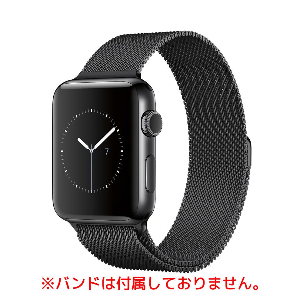 【最大3000円クーポン配布中!ポイントも最大28倍!】中古スマートフォンApple Apple Watch S2 Stainless Steel 42MM Space Black スペースブラック A1758/SB/SS 【中古】 Apple Apple