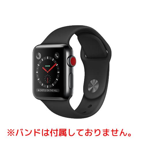 中古スマートフォンApple Apple Watch S3 38mm Cellular Stainless Steel スペースグレイ MQLW2J/A 【中古】 Apple Apple Watch S3 38mm Cellular Stainless S