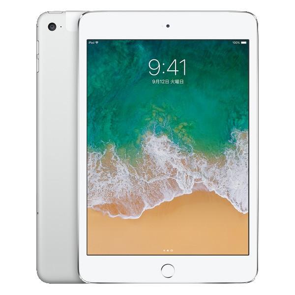中古タブレットApple iPad mini4 Wi-Fi +Cellular 64GB au(エーユー) シルバー NK732J/A 【中古】 Apple iPad mini4 Wi-Fi +Cellular 64GB 中古タブレットApple A8 iOS13