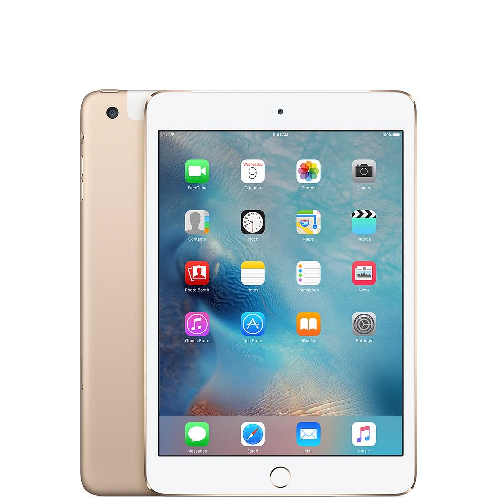 中古タブレットApple iPad mini4 Wi-Fi +Cellular 128GB SIMフリー ゴールド MK782J/A 【中古】 Apple iPad mini4 Wi-Fi +Cellular 128GB 中古タブレットApple A8 iOS13