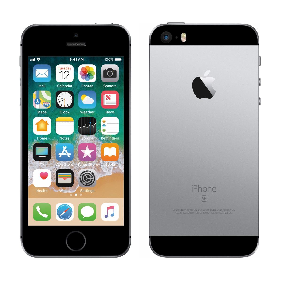 中古スマートフォンApple iPhone SE 16GB SoftBank(ソフトバンク) スペースグレイ MLLN2J/A 【中古】 Apple iPhone SE 16GB 中古スマートフォンApple A9 iOS13 Apple iPhone S