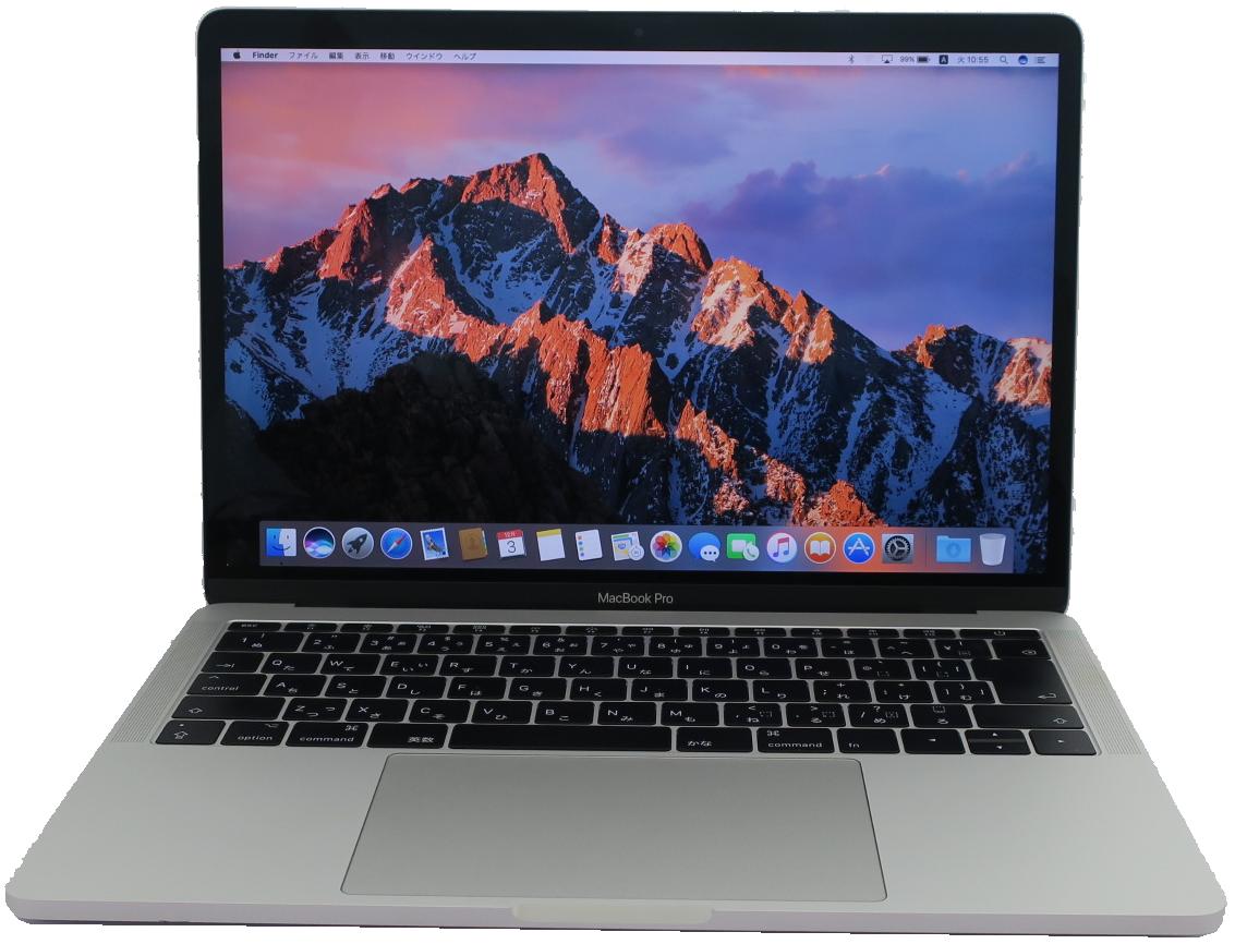 Core i5 期間限定で特別価格 2.3GHz 8GB SSD:256GB Mac OS 10.15 商品ランク:A 動作ランク:A 2020新作 無償保証6ヶ月 中古ノートパソコンApple MacBook Thunderbolt 3 Two Apple 中古 中古ノートパソコンCore MPXT2J 2017 Pro A 13-inch ports