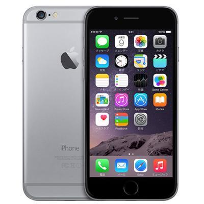 【最大3000円クーポン配布中!お買い物マラソン最大ポイント28倍!】中古スマートフォンApple iPhone6 64GB docomo(ドコモ) スペースグレイ NG4F2J/A 【中古】 Apple iPhone6 64GB 中古スマートフォンApp