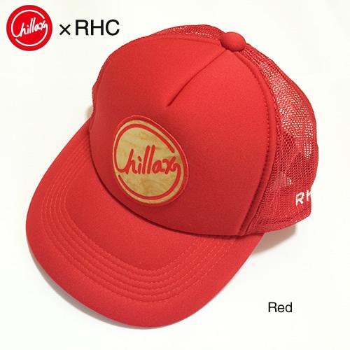 RHC Ron Herman (ロンハーマン): Chillax×Hi-Dutch for RHC メッシュキャップ (Red)