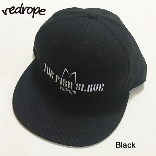 【オススメ】redrope【THE FISH SLAVE SNAPBACK CAP】Black