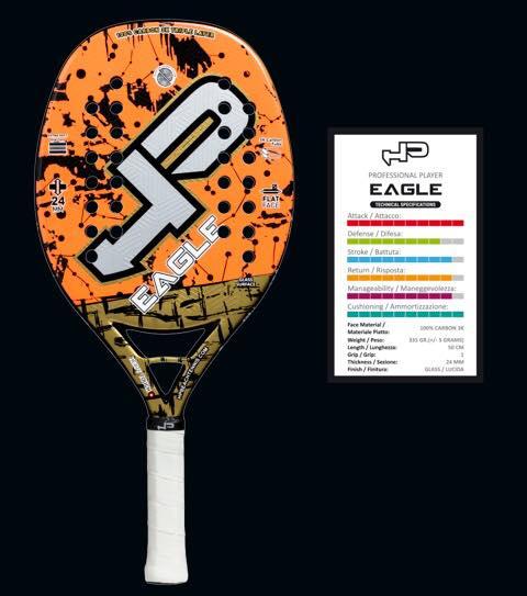 Beach Sports Mart Beach Tennis Racket High Performance Eagle