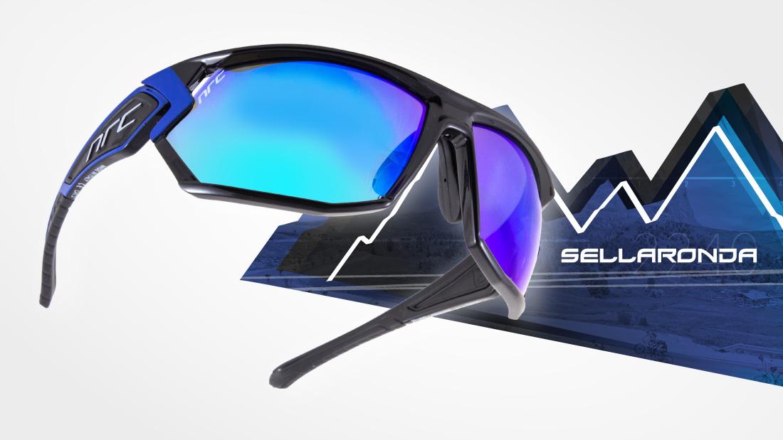 サングラスイタリアブランドNRC occhiali X4.SELLARONDA自転車競技、他様々なスポーツに! スポーツサングラス