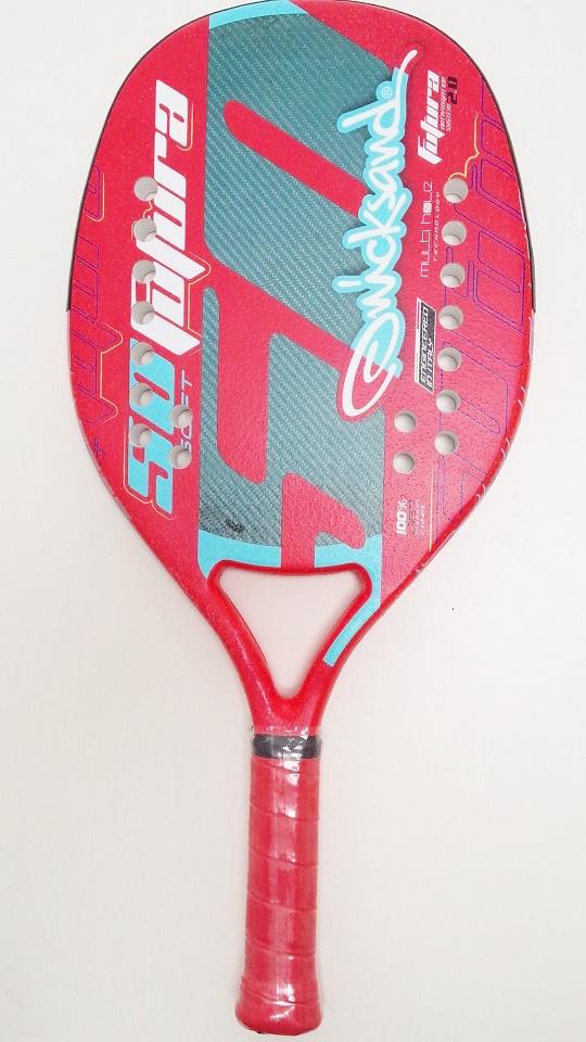 ビーチテニスラケットQuicksand Futura 50 RED