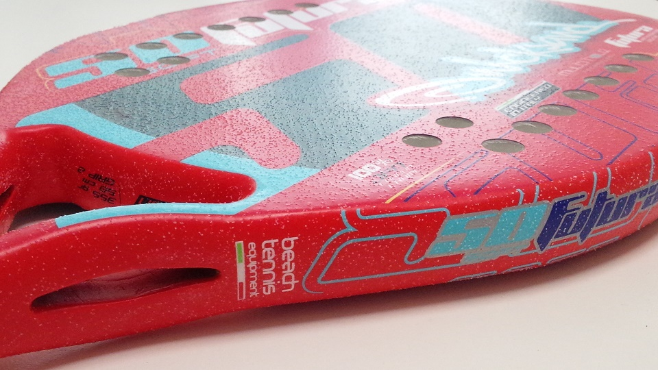 Beach tennis rackets Quicksand Futura 50 RED