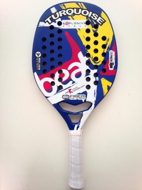 ビーチテニスラケットTURQUOISEBEAT BLUE