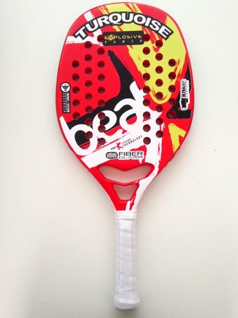 ビーチテニスラケットTURQUOISEBEAT RED