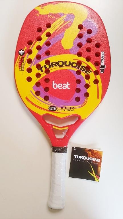 ビーチテニスラケットTURQUOISEWAVE BEAT RED