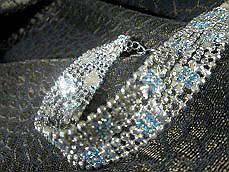 スワロフスキー ネックレス ピアス ベネチアガラスとチェコガラスと3大ガラスの一角スワロフスキー 新着セール レディースジュエリー ガラスパーツ アクセサリー レディース-121 ガラスビーズ ブレスレット 定価の67%OFF