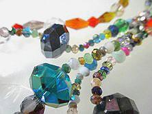 ガラスペンダント ガラスネックレス 即納送料無料 商舗 ガラスピアス ガラスブレスレット ジュエリー ガラス ネックレス ブレスレット製作用 変形デザイン系 Mixカラフル パーツ ビーズ ガラスパーツ ガラスビーズアクセサリーパーツ 連1本ーML