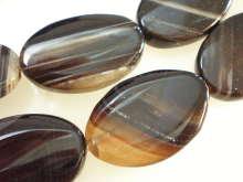 めのう ネックレス オリジナル 天然石 ペンダント ネックレス制作 原石 ビーズ OV-8 アクセサリー 大粒 お金を節約 ばらケ売り パーツ アクセサリーパーツ 黒めのう
