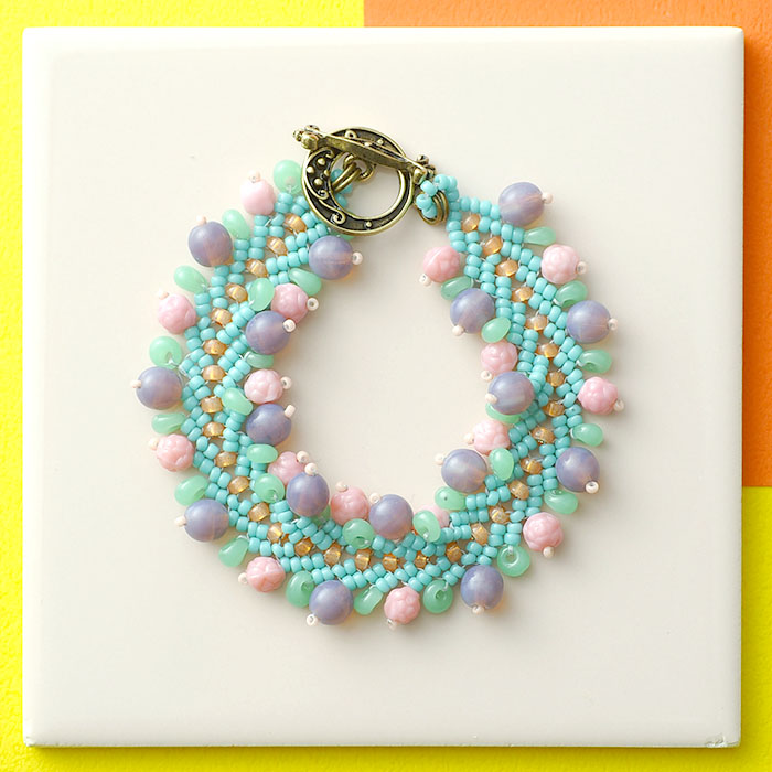 Handmade Kit Accessories 8 3 New Nostalgic Pop Bracelet Beads Recipe How To Make Handicrafts Materials Set