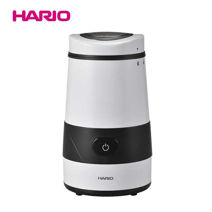 手軽にコーヒー豆を挽くことができる電動コーヒーミル HARIO 電動コーヒーミル 売却 [正規販売店] プロペラ ホワイト EMP-5-W ミル コーヒー コーヒー豆 豆挽き カフェ