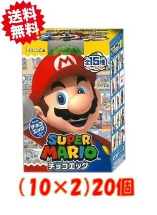 チョコエッグ スーパーマリオ 20個入り 10×2 評判 19再販いたします 店舗 7