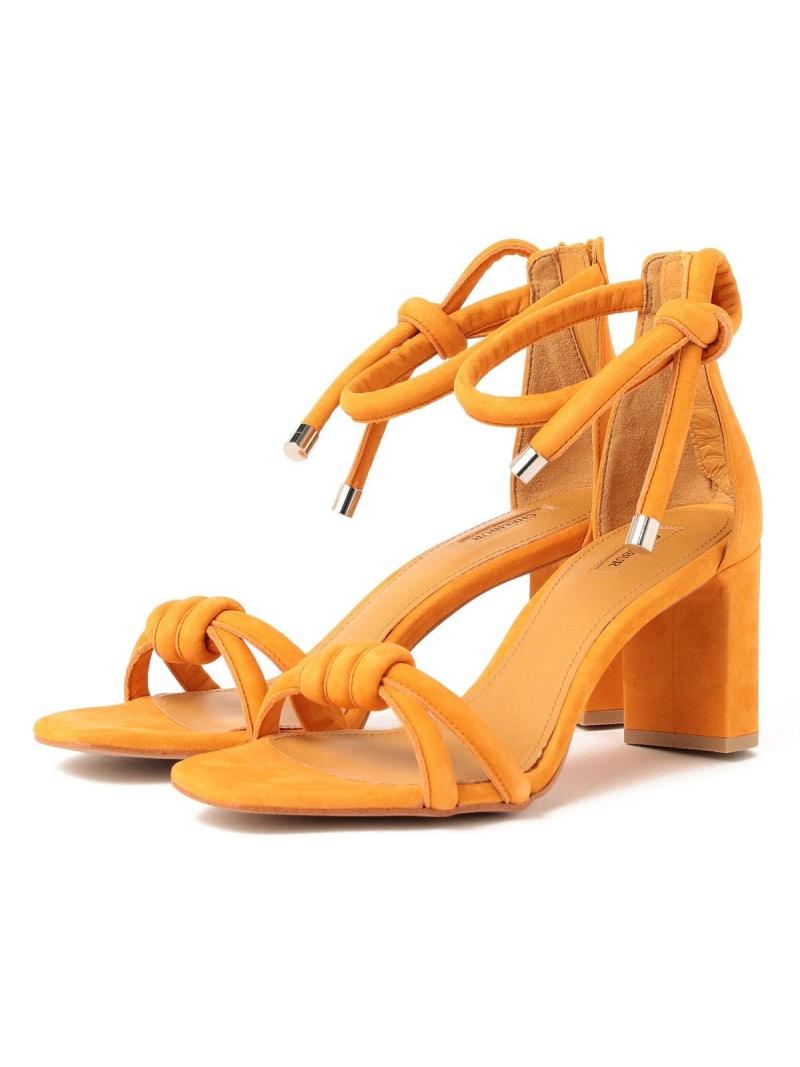 格安 価格でご提供いたします BEAMS OUTLET レディース シューズ ビームス アウトレット Demi-Luxe Rakuten Fashion 送料無料 RBA_E ミュール 正規品 CHEMBUR 2ストラップ アンクルサンダル オレンジ サンダル
