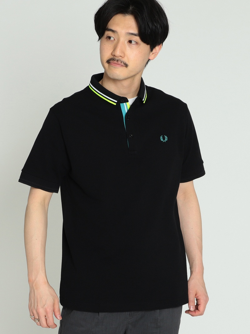 [Rakuten BRAND AVENUE]FRED PERRY × BEAMS/ AVENUE]FRED 別注 PERRY チェンジカラー FRED ポロシャツ 19SS FRED PERRY ビームス メン カットソー【送料無料】, カワヅチョウ:16cfd260 --- knbufm.com