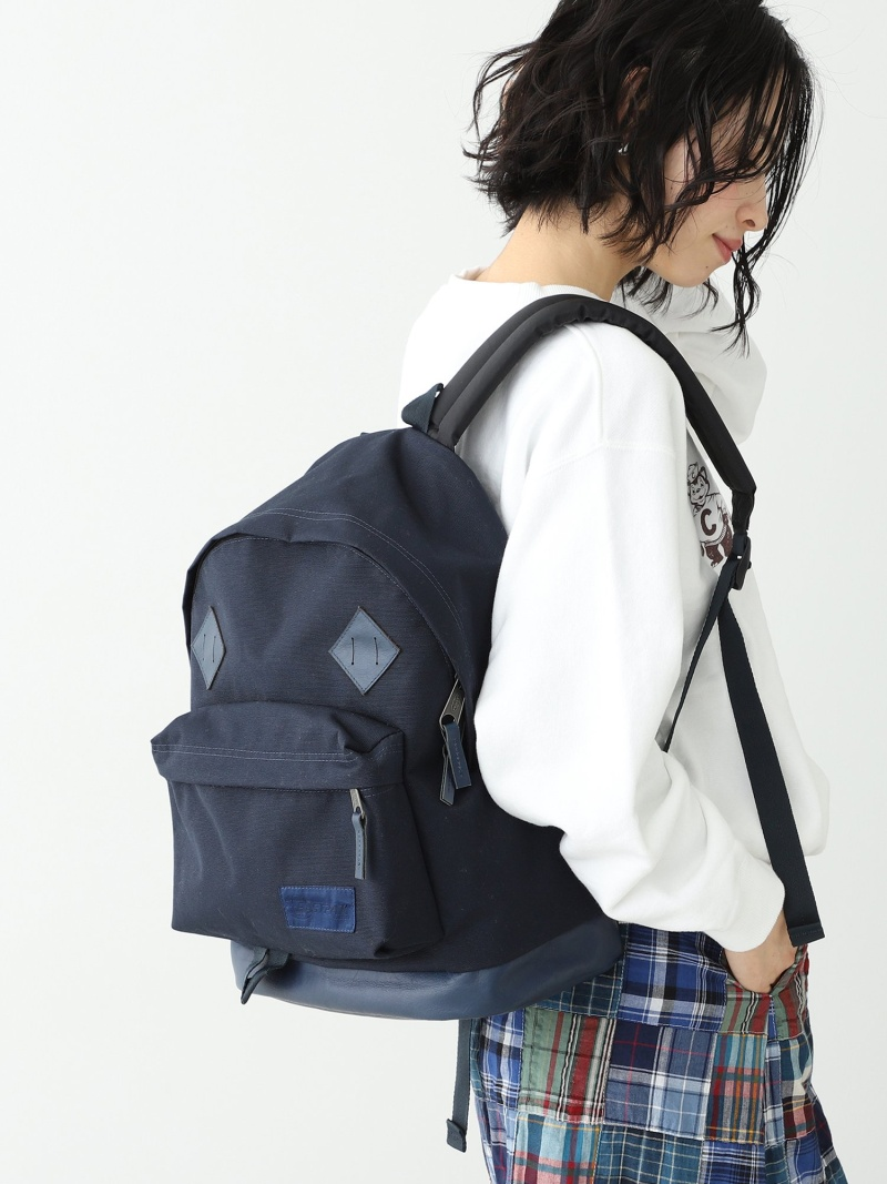 [Rakuten Fashion]EASTPAK × BEAMS BOY / 別注 CROSS COUNTRY PAK'R BEAMS BOY ビームス ウイメン バッグ リュック/バックパック ネイビー【送料無料】