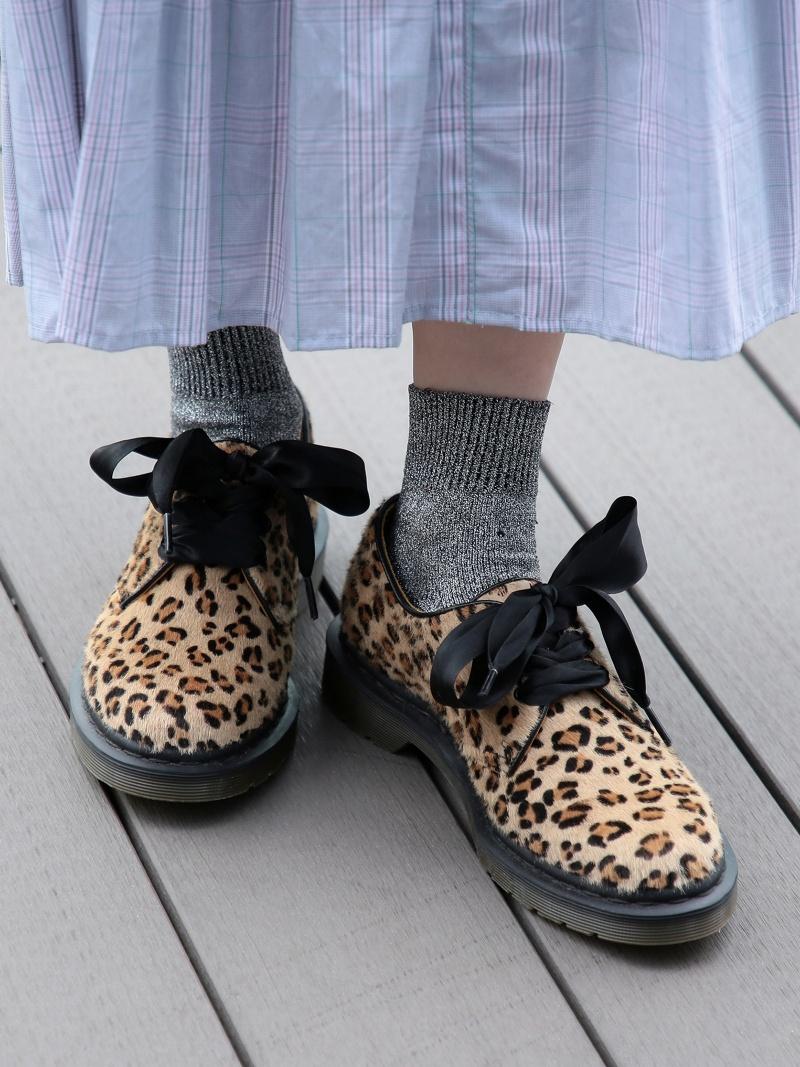 [Rakuten Fashion]Dr.Martens × Ray BEAMS / 別注 レオパード 3eye  Ray BEAMS ビームス ウイメン シューズ フラット【送料無料】