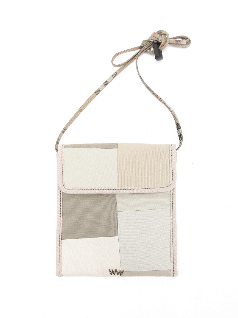 [Rakuten BRAND AVENUE]WACCOWACCO / Patchwork Shoulder Bag ビームス メン バッグ【送料無料】