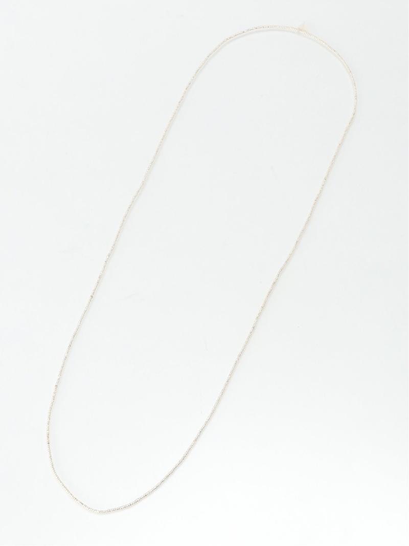 [Rakuten Fashion]MANO.TX / ヴィンテージ シルバー ビーズ ネックレス BEAMS ビームス BEAMS LIGHTS ビームスライツ アクセサリー ネックレス シルバー【送料無料】