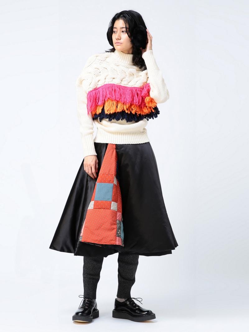 [Rakuten BRAND AVENUE]maturely / MUSE Quilt Circular Skirt マチュアリー BEAMS BOY ビームス ボーイ スカート BEAMS BOY ビームス ウイメン スカート【送料無料】