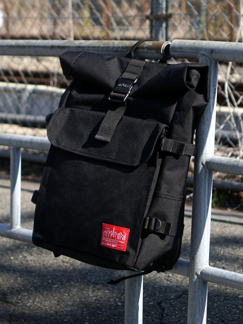 [Rakuten Fashion]Manhattan Portage × BEAMS / 別注 1236 バックパック BEAMS MEN ビームス メン バッグ リュック/バックパック ブラック【送料無料】