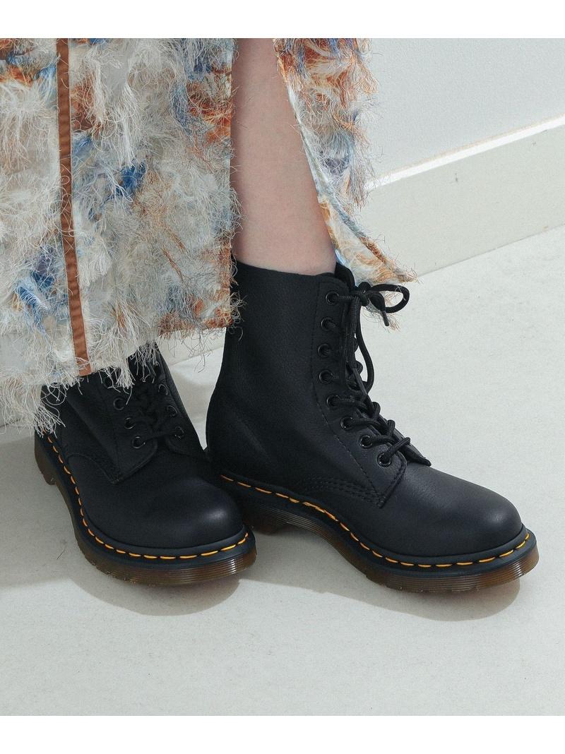 [Rakuten Fashion]Dr.Martens / PASCAL パスカル 8ホール ブーツ Ray BEAMS ビームス ウイメン シューズ ショートブーツ/ブーティー ブラック【送料無料】