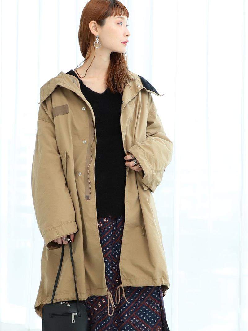 [Rakuten Fashion]Lee / M65 FishTail パーカ Ray BEAMS ビームス ウイメン コート/ジャケット コート/ジャケットその他 ベージュ グリーン【送料無料】