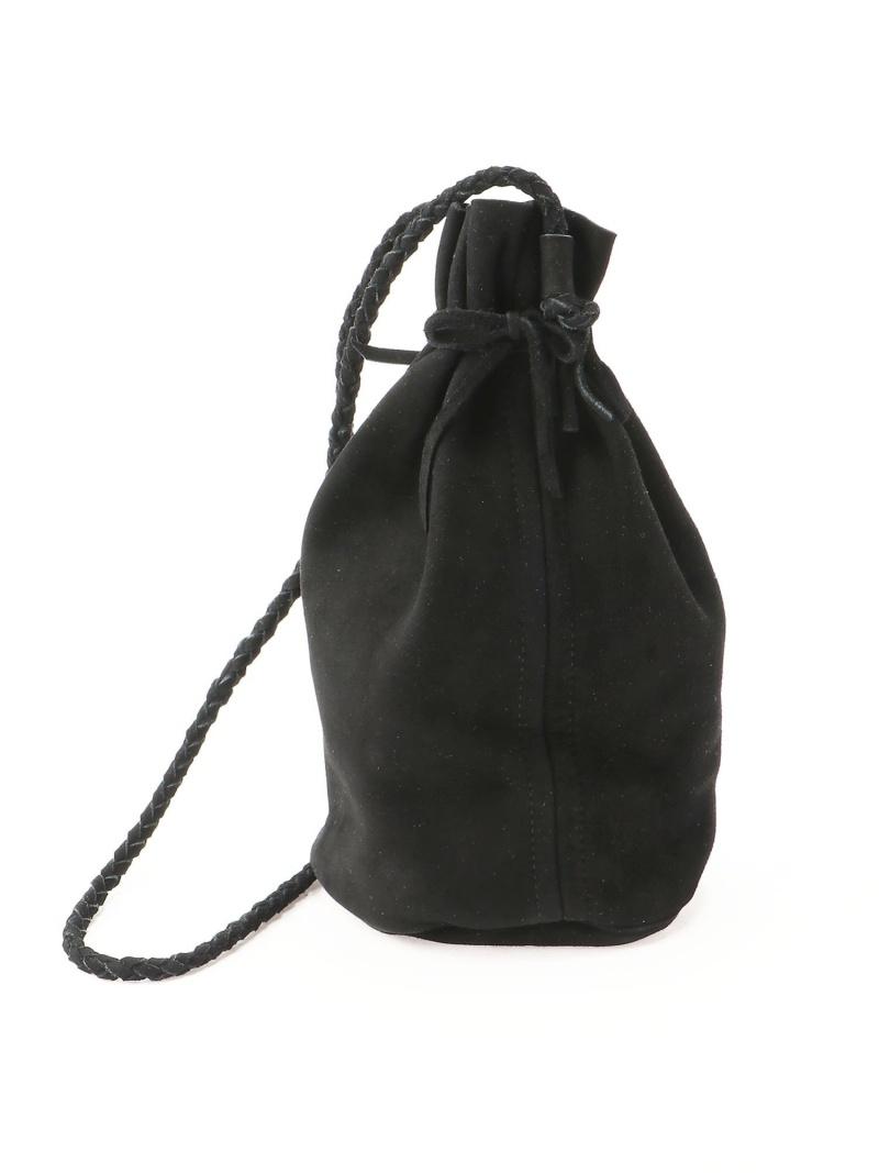 [Rakuten Fashion]B.Leather巾着BAG BEAMS MEN ビームス メン バッグ バッグその他 ブラック ブラウン【送料無料】
