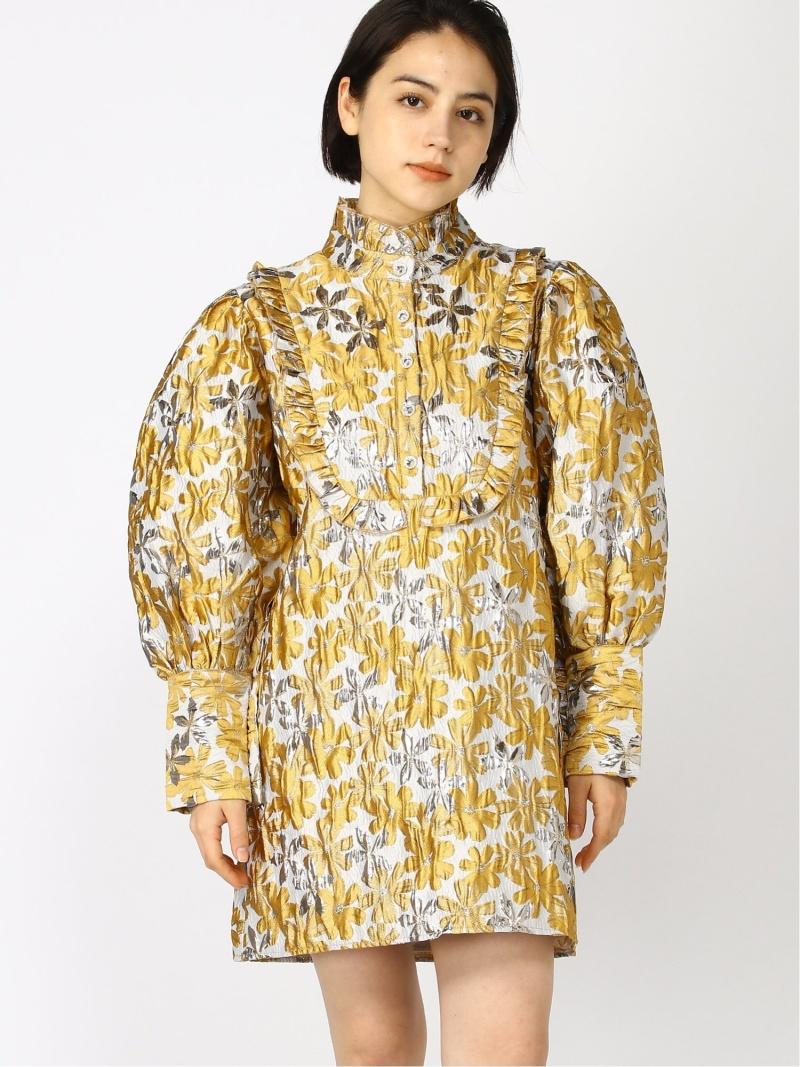 [Rakuten Fashion]【SALE/30%OFF】sister jane / Golden Fable Jacquard Dress Ray BEAMS ビームス ウイメン ワンピース ワンピースその他 ゴールド【RBA_E】【送料無料】