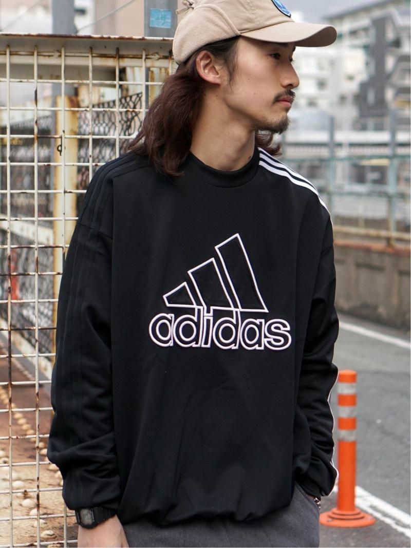 [Rakuten Fashion]adidas Athletics for BEAMS / ウォームアップ プルオーバー BEAMS MEN ビームス メン カットソー スウェット ブラック【送料無料】