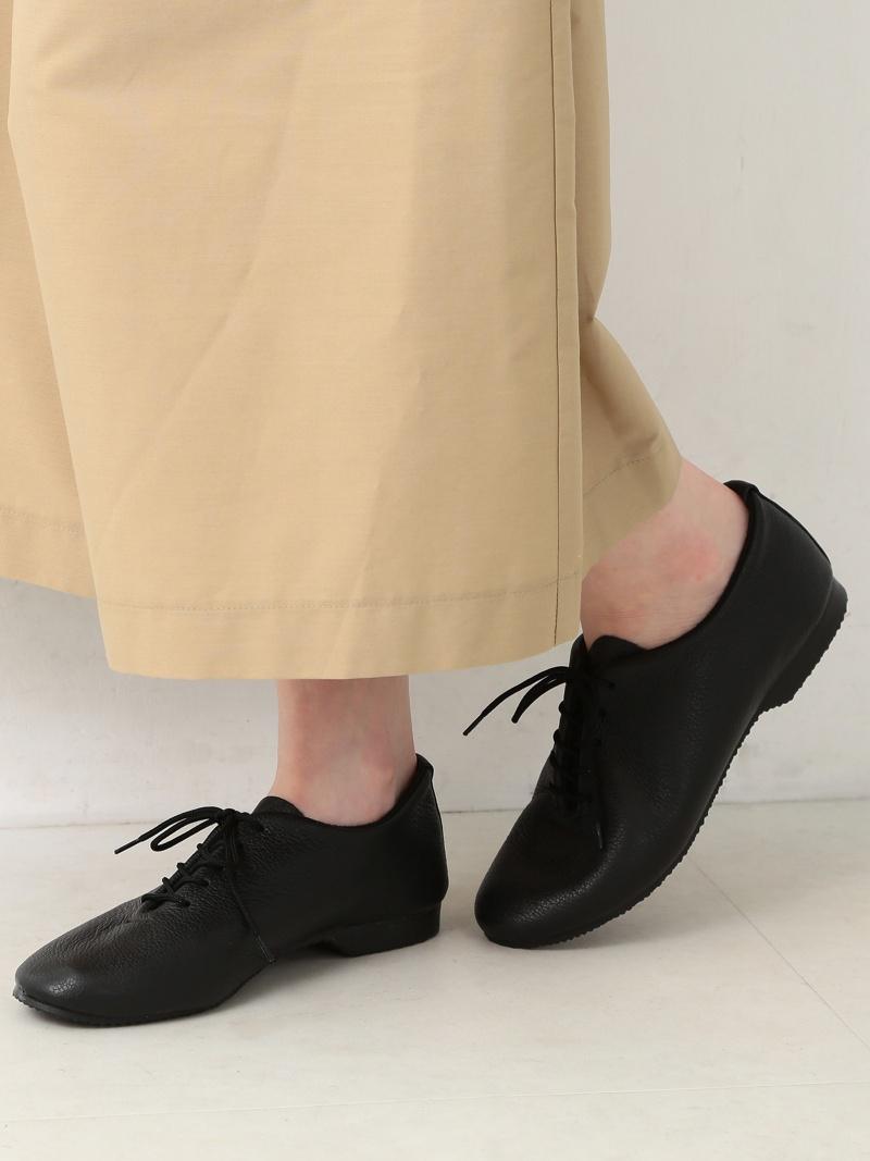 [Rakuten Fashion]CROWN / DanceJazz シューズ Ray BEAMS ビームス ウイメン シューズ フラット ブラック ホワイト【送料無料】
