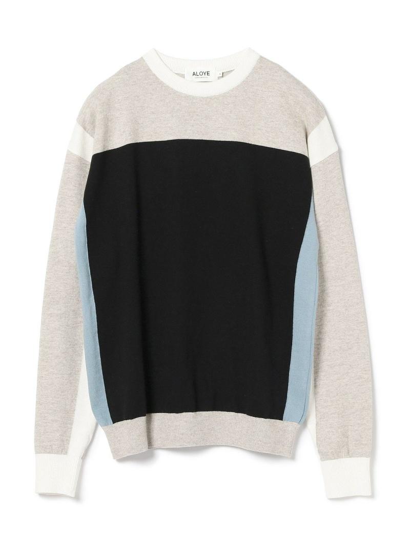 [Rakuten BRAND AVENUE]ALOYE × G.F.G.S. / Long Sleeve Knit Tee BEAMS T ビームスT ニット【送料無料】